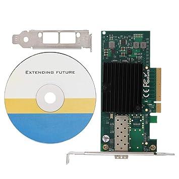 Tarjeta de red PCI-E, fibra de servidor 10 Gigabit, tarjeta ...