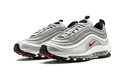 Cheap Nike Air Max 97 Ultra Trainers Silver Red Black Hers trainers Office