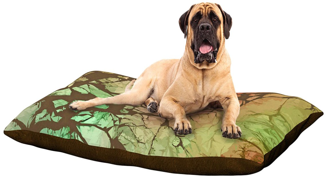Fire Skies X-Large 40\ Fire Skies X-Large 40\ Kess InHouse Alison Coxon Fire Skies  Dog Bed, 50 by 60-Inch