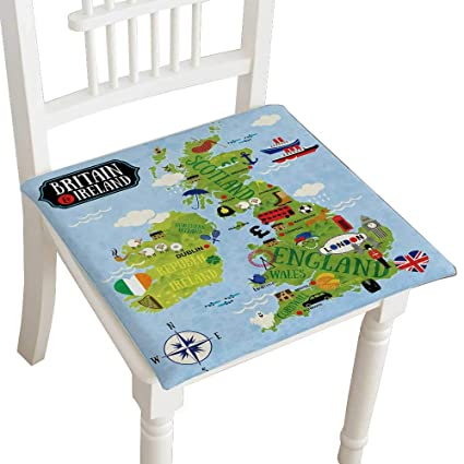Amazon Com Indoor Outdoor All Weather Chair Pads Coon Maps Of