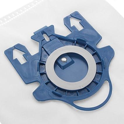 RanDal 12 Bolsas De Aspiradora Y 4 Filtros Fit Miele 3D Gn Complete C2 C3 S2 S5 S8 S5210 S5211 S8310