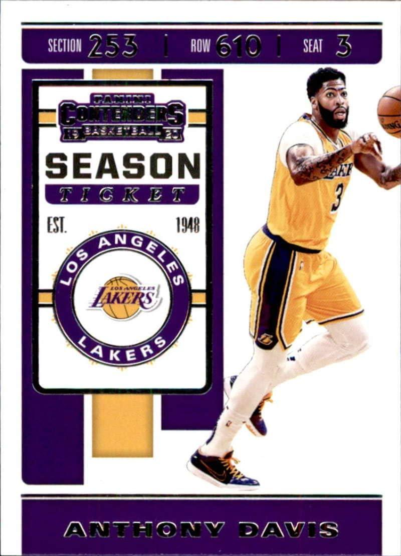 Anthony Davis #3 Los Angeles LA Lakers Basketball Stitched Jersey Yellow NEW