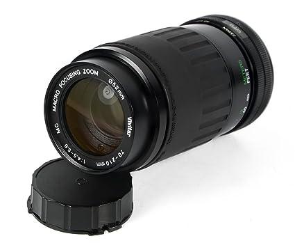 amazon com vivitar 70 210mm f 4 5 5 6 macro focusing zoom lens for rh amazon com User Documentation User Documentation
