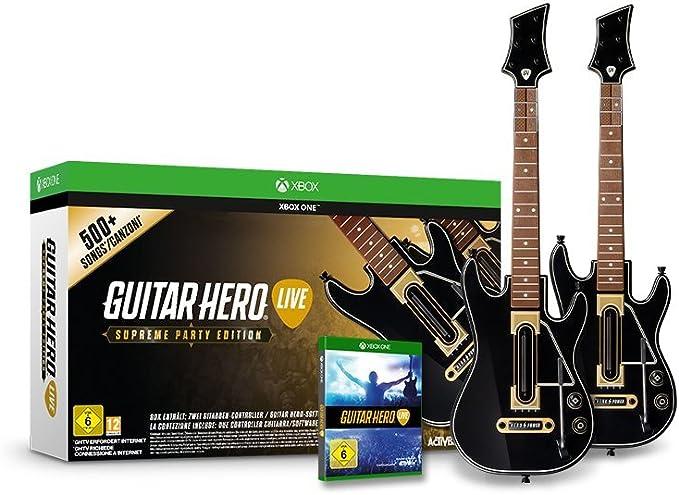 Guitar Hero Live - Supreme Party Edition [Importación Alemana ...