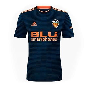 Adidas Valencia CF Segunda Equipación 2018-2019, Camiseta, Collegiate Navy-Semi Solar Orange, Talla 2XL: Amazon.es: Deportes y aire libre