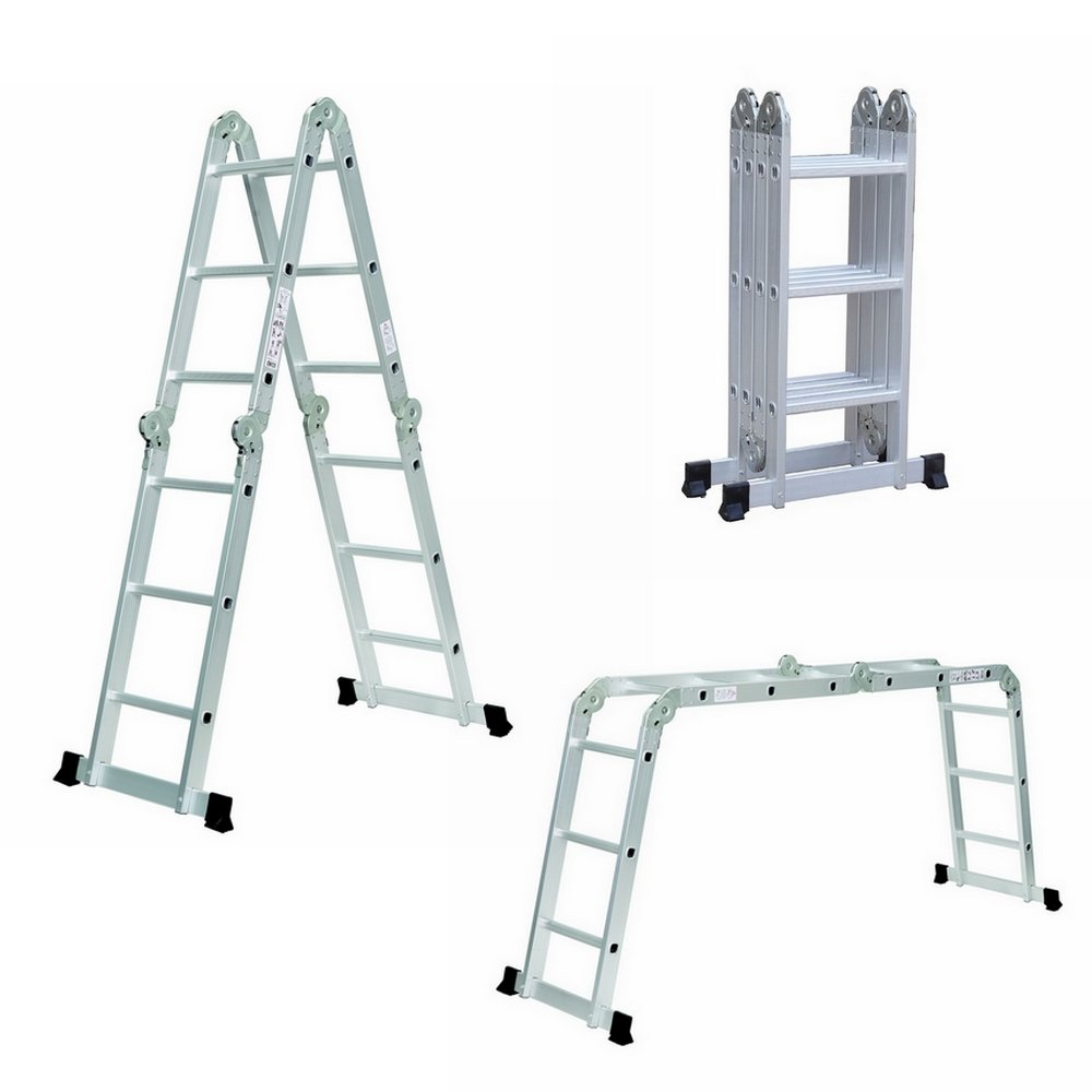 Homegear ZJIT-1003 12.5Ft Folding 12.5Ft Multi-Purpose Folding Ladder … by Homegear