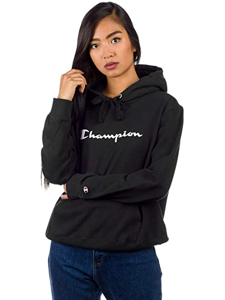 Champion Reverse Weave Damen Kapuzenpullover Hooded Sweatshirt