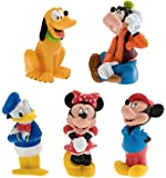 Disney Parks Exclusive Mickey and Friends 5 Pc. Bath Tub Pool Squeeze Toys Set