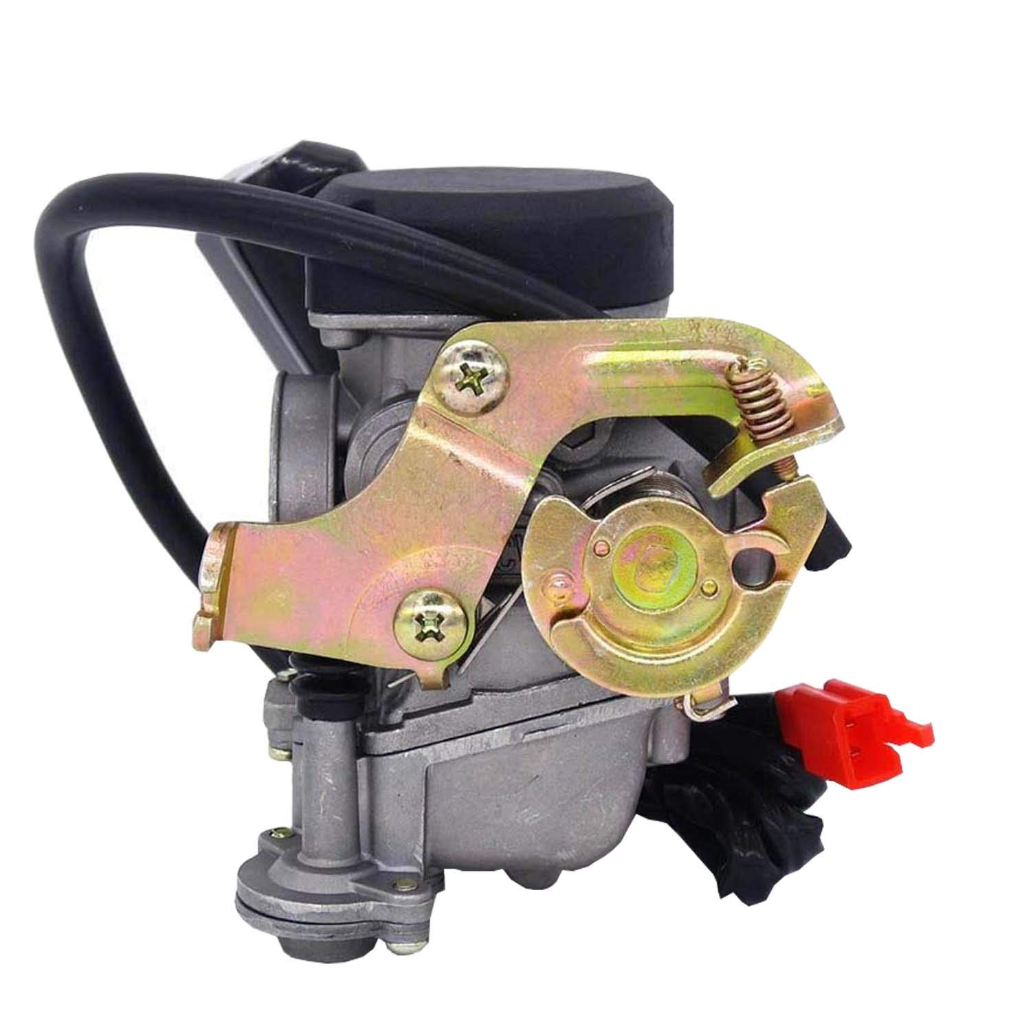 Parts Club 49cc Scooter Carburetor GY6 Four Stroke with Jet Upgrades Scooter Moped ATV