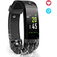 YoYoFit Heart Rate Monitor, Waterproof IP68 GPS Fitness Tracker with 24/7 Wrist Band HR, Slim Fitness Activity Tracker Watch for Outdoor Sports or Daily Use