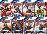Ultimate Avengers: The Movie Animated DVD & Hot Wheels Exclusive Marvel Avengers Car - Cartoon Iron Man, Hulk, Super hero movie Set