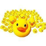 アヒルの親子 ウキウキ 60個 セット お風呂 水遊び イベント インテリア ギフト 【 おまけ付き 】