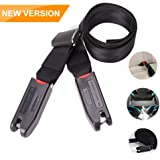 Forberesten Baby Car Seat Belt for LATCH and ISOFIX, Strong Hook Tooth with 12000N, 8 Times Sewing, Durable Polyester Nylon for Baby Safety