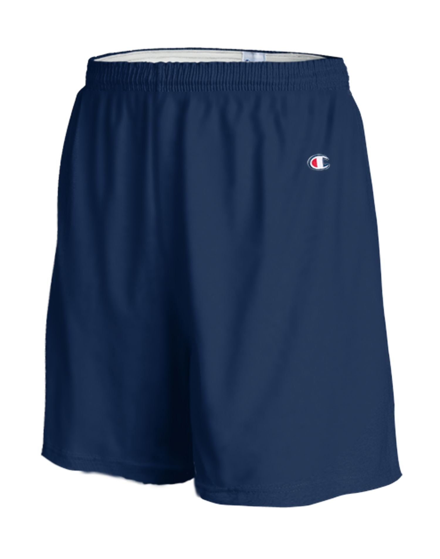 Champion 6.3 oz Cotton Gym Shorts in Navy - Large