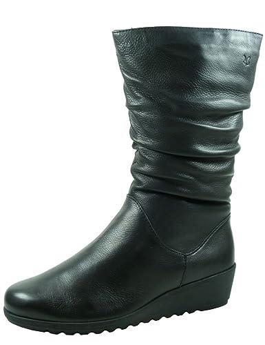 1725a465c71a5e Caprice Stiefel Gefüttert Black Nappa 9-26455-29 022  Amazon.de ...