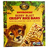 Nature's Path, EnviroKidz, Organic Crispy Rice Cereal Bars, Berry Blast, 6 Bars, 1 oz (28 g) Each