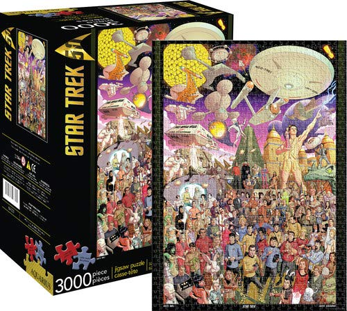 (Aquarius Star Trek 50th Anniversary 3000 Piece Jigsaw Puzzle)