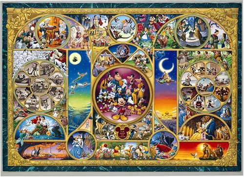 Tenyo Disney Character World World's Smallest Jigsaw Puzzle (1000 Piece) (Donald Duck Puzzles 1000 Piece compare prices)