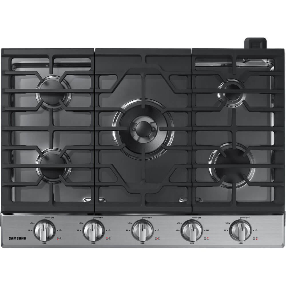 "Samsung 30"" Stainless Steel Gas Cooktop"