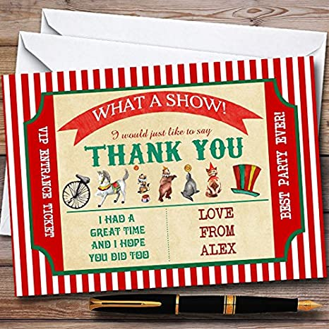 Invitations Thank You Notes Personalised Birthday Banners Posters Cards