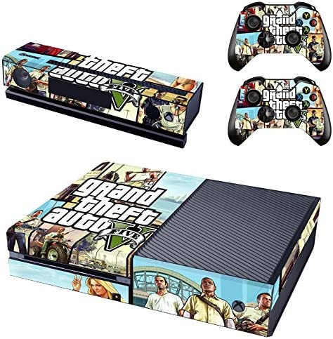 Hambur? Full Protective Xbox One Skin with 2PCS Protective Vinyl Skin Decals Cover for Microsoft Xbox One Controllers (Grand Theft Auto 5) by Hambur: Amazon.es: Videojuegos