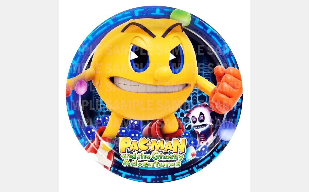 Amazon.com : Pac Man and the Ghostly Adventure Edible Image Photo 8 ...