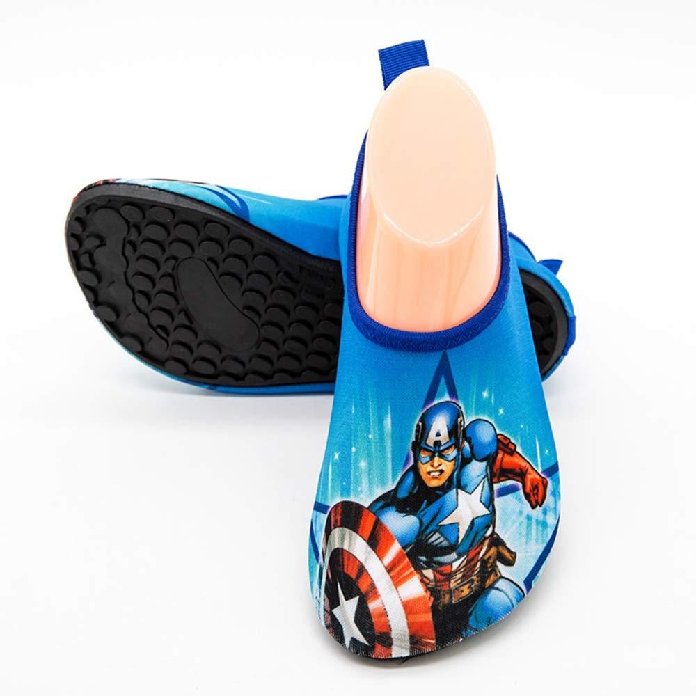 Kids Toddler Captain America Barefoot Skin Beach Swim Surf Yoga Sport Shoes