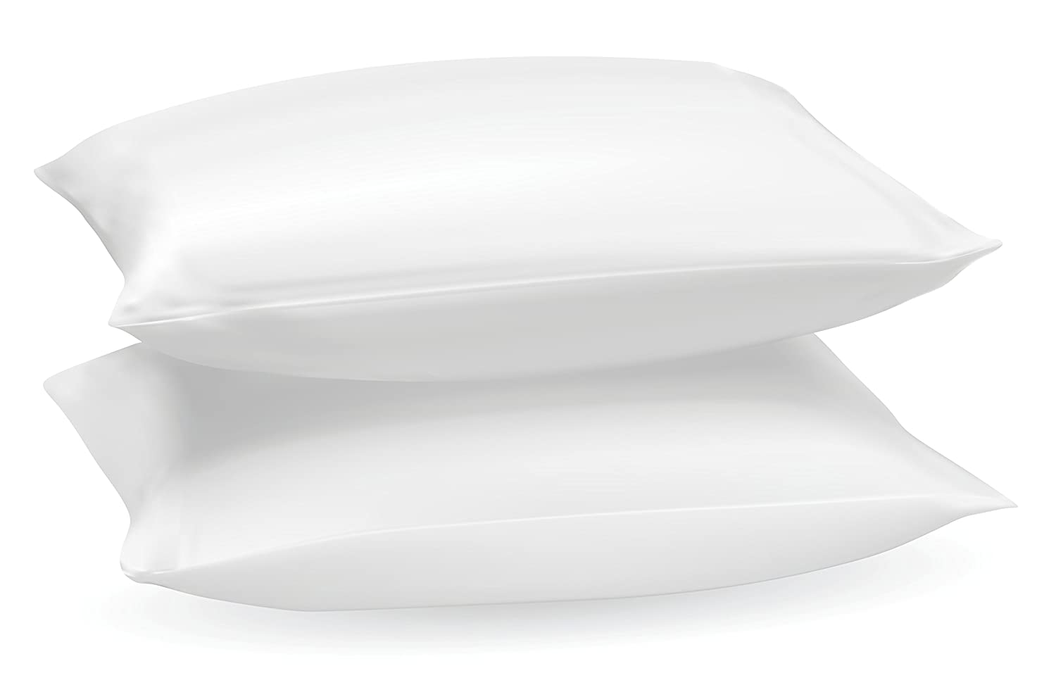 AR Textile's 2x & 4x Large & Comfortable Hotel Quality Duck Feather and Down Pillows, Comfortable Extra Filling Hotel Quality Pair of Pillows, Anti Dust Mite - Washable - Medium / Soft Firmness - 100% Cotton Downproof Cover (Pack of 2) bedding stu