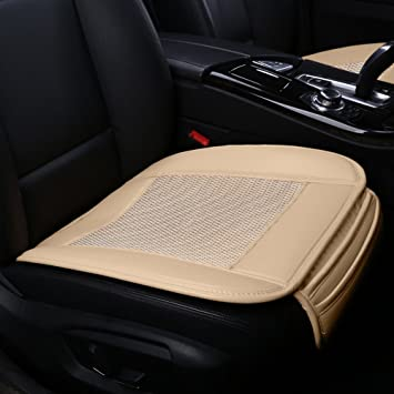 Car Seat CoversIce Silk Covers Pad Matcarbonized Leather Ventilated