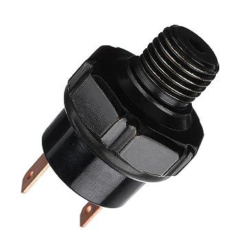 MagiDeal Interruptor de Presión de Compresor de Aire para Bocina de Vehículos - Negro 150-180 psi: Amazon.es: Coche y moto