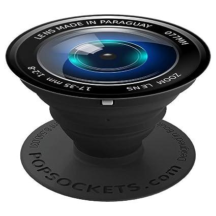 Amazon.com: Pop Sockets Soporte para teléfono HD cámara zoom ...