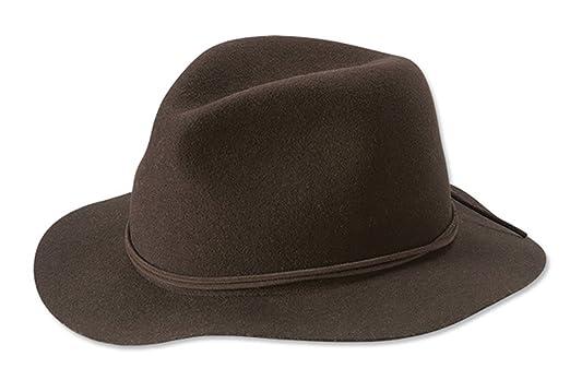 Orvis Women s Saddle Ridge Packable Felt Hat at Amazon Women s Clothing  store  46969785d8b8