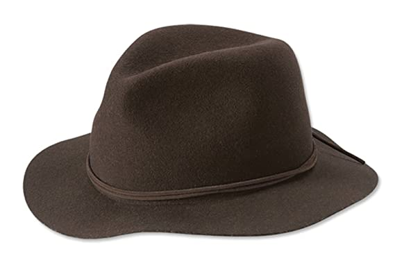 fdad1714 Orvis Women's Saddle Ridge Packable Felt Hat at Amazon Women's ...