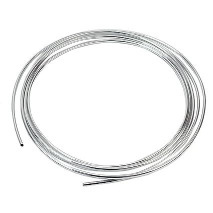 Plata Embellecedor Autoadhesivo Cromado PVC Tira Decorativa para Coche Rejilla