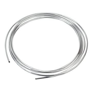 Plata Embellecedor Autoadhesivo Cromado PVC Tira Decorativa para Coche Rejilla: Amazon.es: Coche y moto