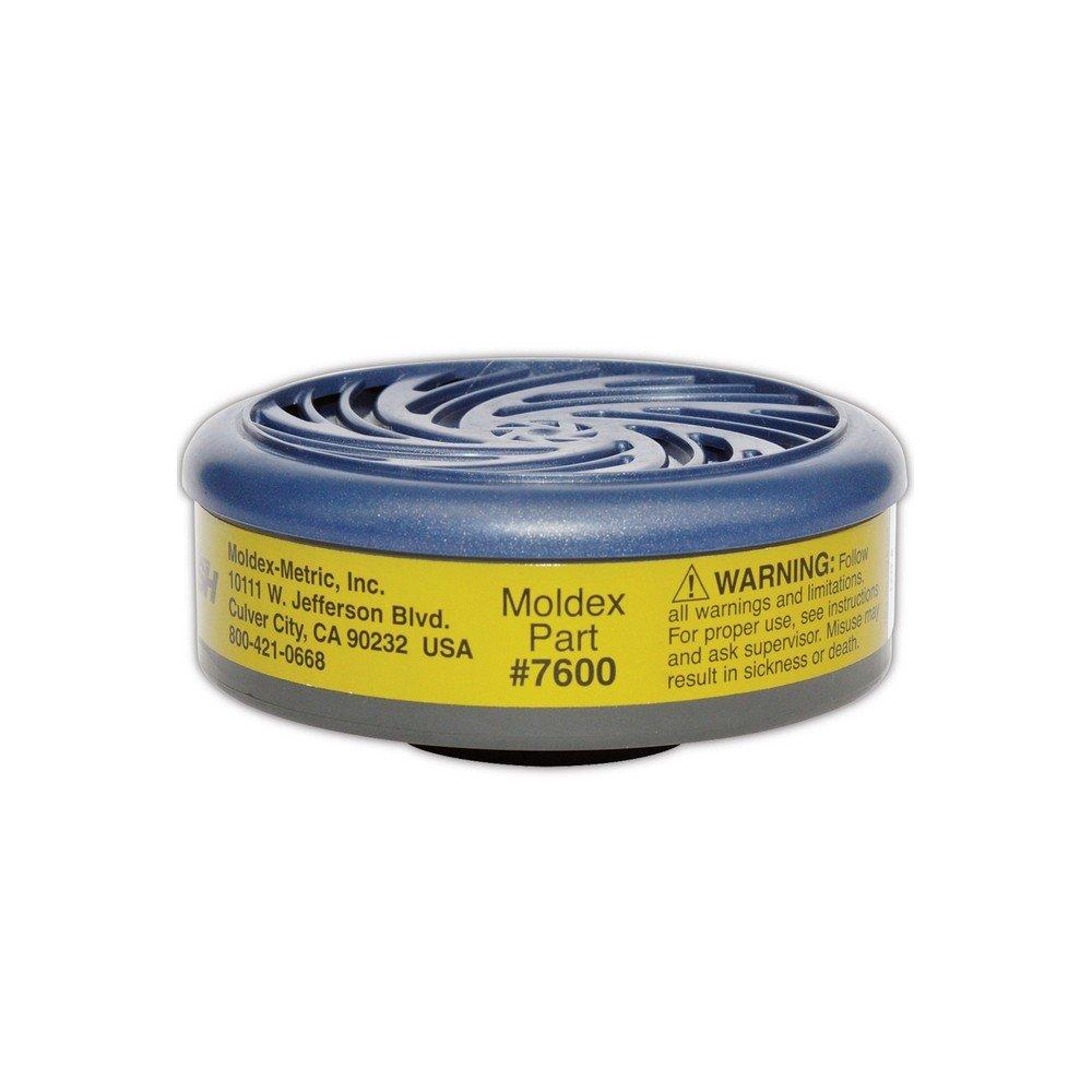 MOLDEX 7640 Multi-Gas Combo Cartridge,P100,PK2