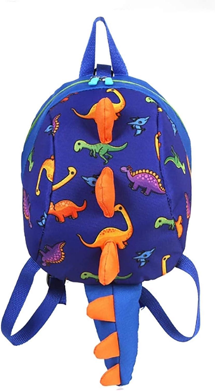 LESNIC Mochila para niños Dinosaurios Mochila Infantil para Niños Primaria Pequeña Guardería Mochila Preescolar para Bebé Niño Niña de 1-6 Años (Azul)