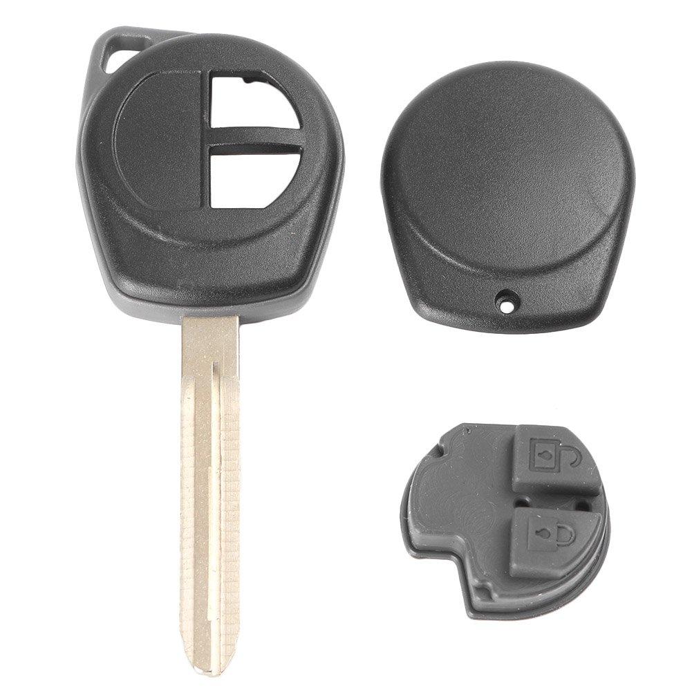 Amazon.com: gzyf llave de 2 botones Fob Shell Funda para ...