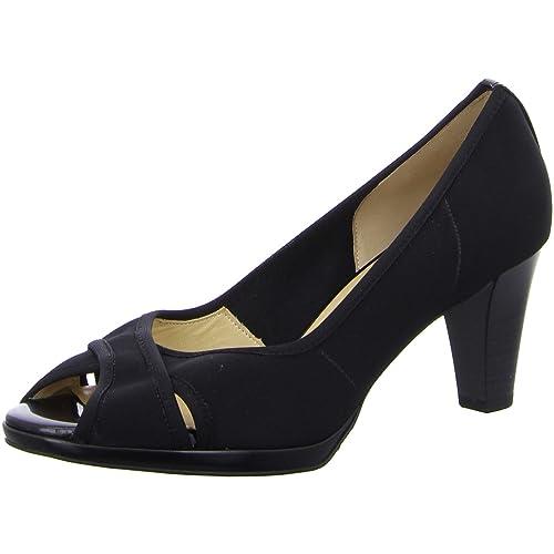 Peter Kaiser - Mocasines de tela para mujer, color negro, talla 3.5: Amazon.es: Zapatos y complementos