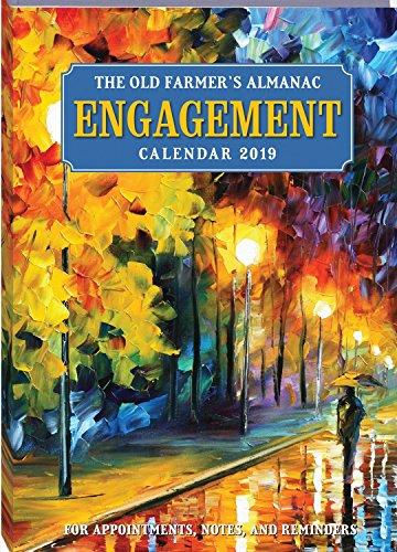 The Old Farmer's Almanac 2019 Engagement Calendar