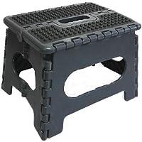 SBS Tritthocker 32 x 25 x 22 cm - bis 150 kg - tragbar Rutschfest platzsparend Tritt Steigleiter