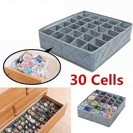 Drawer Divider Closet Underwear Socks Bra Organizer Container Storage Box 1PC
