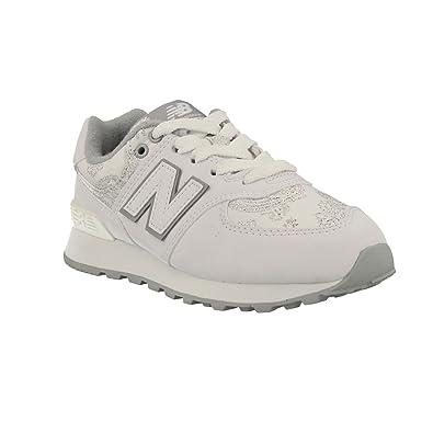 separation shoes b8d1c 9f527 Amazon.com: New Balance Sneaker PC574 PW Preschool Cordon: Shoes