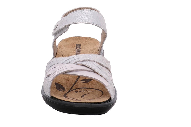 Romika Ibiza 85 Sandalen in Übergrößen Weiß Weiß Weiß 16085 49 000 große Damenschuhe - 63e723