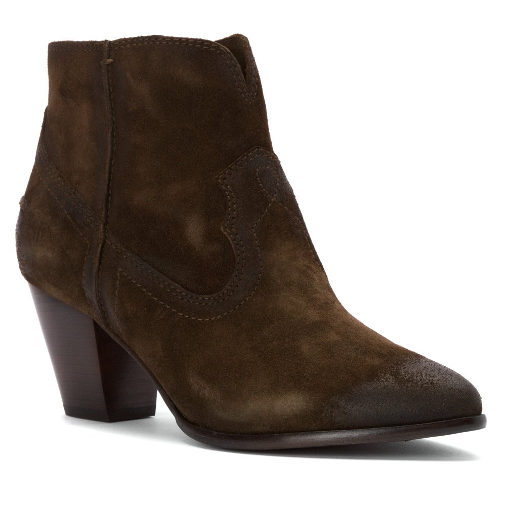 FRYE Women's Renee Seam Short Boot B00TQ4HLS0 8.5 B(M) US|Fatigue Oiled Suede