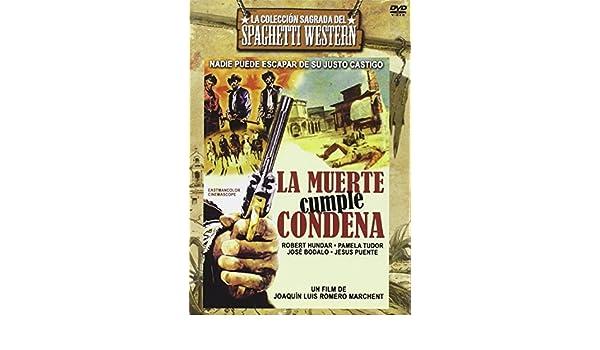 Amazon.com: La muerte cumple condena - 1966 - Joaquin luis romero marchent - Import Spain - Region 2: Movies & TV