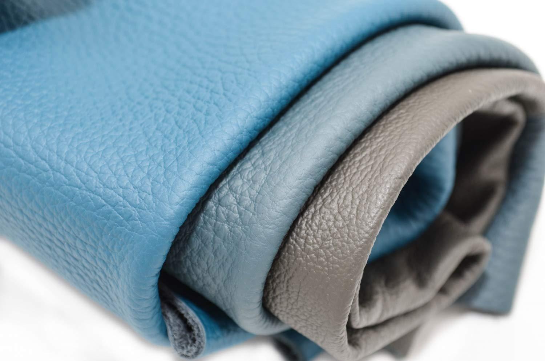 Usinage Tri/é Bleu Pi/èces de Tr/ès Grande Taille CLUB4BRANDS Pi/èces de Cuir Textiles 1Kg Haute Qualit/é Cuir pour Couture D/écoupes de Cuir Artisanat Chutes de Cuir Couverture min DIN A4