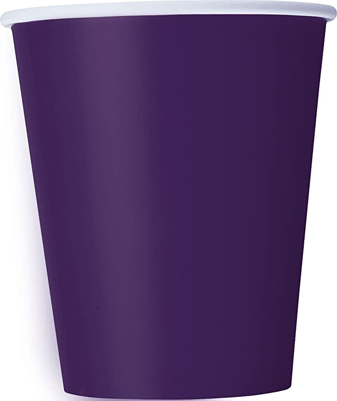 Purple Folat 29001 Glamour Girls Disposable Cups
