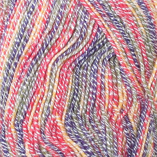 - Super Fine Weight Soft and Slim Yarn Color 990 Candy Swirl - 2 Skeins - BambooMN