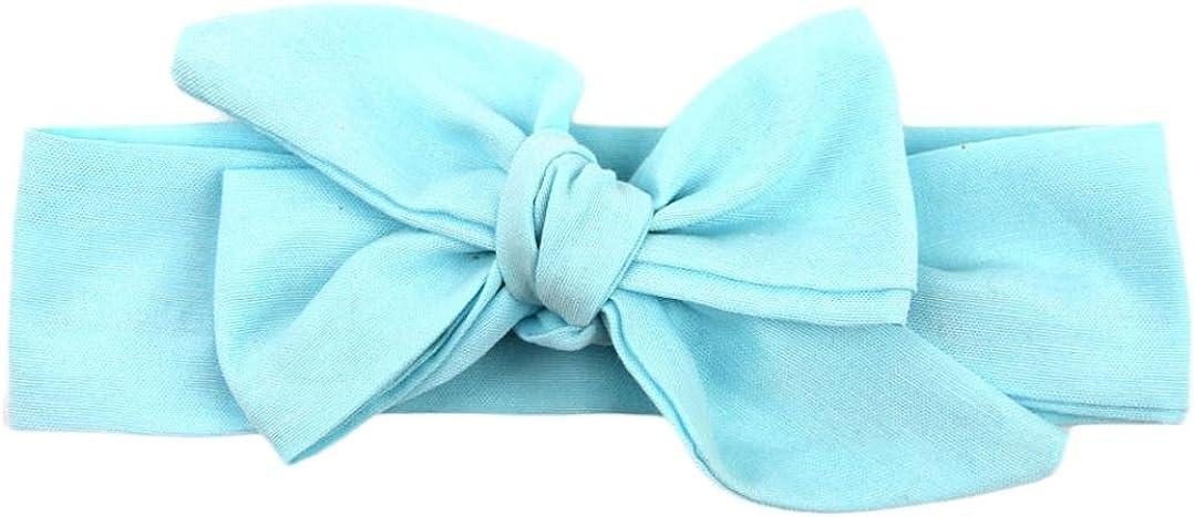 Tuscom Baby Girls Headband Elastics For Newborns Elastic Hair Head Band